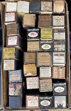 Lot of 34 Antique PLAYER PIANO ROLLS (DAS1)