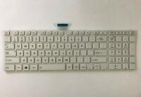 Genuine Toshiba Satellite C850 L850 Series Laptop Keyboard White H000046200