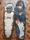 """Canadian Snowshoes GV Winter Trail 10x36"""" Blue with Entech - Brand New"""