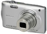 Nikon COOLPIX S3300 Digital Camera - Includes 2GB SD Card and A/C Charger