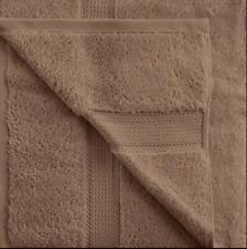 Latte Superior 900 GSM 100% Cotton 2 Bath Towels, 2 Hand Towels, 2 Washcloth Set