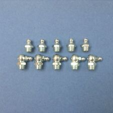 Grease Nipples 1/8BSP Straight & 1/8BSP X 90 Degrees  5 Of Each