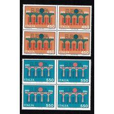REP0718 - 1984 Serie Europa CEPT Quartine MNH/**