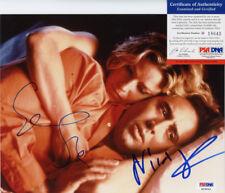 NICOLAS CAGE & ELISABETH SHUE SIGNED COLOR 8X10 PHOTO LEAVING LAS VEGAS PSA
