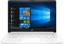 "HP 14-dk0030ca Notebook 14"" HD A4-9125 2.3GHz 4GB RAM 64GB eMMc Win 10 Home S"