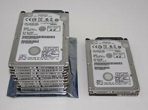 11 x 320GB SATA Hitachi Laptop 2.5 Slim 5400 RPM HDD Hard Disk Drive Job Lot