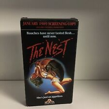 The Nest VHS Tape Movie Horror Gore MGM Video Promo Screener Tested Working