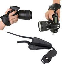 DSLR SLR PU Leather Hand Grip Wrist Strap for Canon Nikon Sony Pentax Cameras
