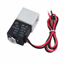 """Normally Closed Fast Response Electric Air Water Solenoid Valve 1/4"""" 12V DC IP65"""