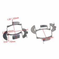2Pcs H7 LED Headlight Bulb Adapter Retainer Holder for Audi Opel Nissan BMW VW