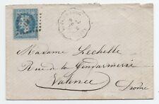1869 LETTRE  CONVOYEUR STATION RIVES SUR FURE ISERE
