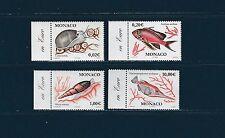 - Monaco  poissons et coquillages  2002    num: 2327/30  **