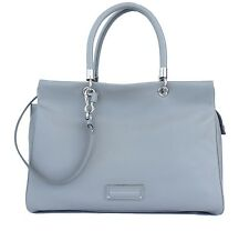 Marc by Marc Jacobs Too Hot To Handle Bentley Leather Tote Light Grey New