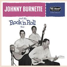 ROCKABILLY EP: JOHNNY BURNETTE TRIO CARDBOARD Be! Sharp Back Vinyl ! ALT TAKES!