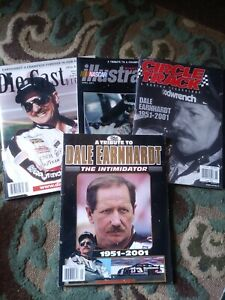 4 tribute magazines Die Cast Digest ~ 10th Anniversary ~ Dale Earnhardt