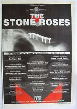 THE STONE ROSES 1995 POSTER ADVERT CONCERT TOUR second coming