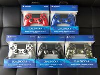 GEN 2 LATEST Sony PlayStation 4 PS4 Dualshock 4 Wireless Controller BLACK BLUE