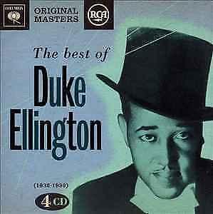 The Best of Duke Ellington 4 CD Columbia and RCA Origional Masters