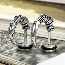 Fashion Punk Gothic Men Womens Stainless Steel Claw Talon Ear Studs Earrings