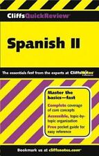 Spanish II (Cliffs Quick Review)-ExLibrary