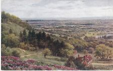 Artist Drawn, View From Leith Hill, Nr DORKING, Surrey - A. R. Quinton