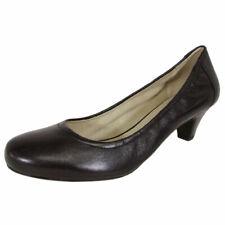 Calzado de mujer negro de piel, talla 37