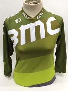 Pearl Izumi BMC Trailcrew Mountain Bike Jersey Baggy Lime Women's - S - 215444