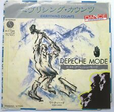 DEPECHE MODE Everything Counts 45 JAPAN PROMO PRESS P-1799 NM