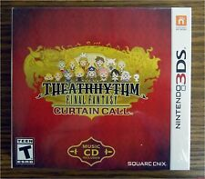 Theatrhythm Final Fantasy Curtain Call Nintendo 3DS Limited Edition W/ CD NEW