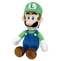 Little Buddy Super Mario Luigi 10 Inch Plush NEW Licensed Toys Plushies Nintendo