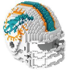 NFL Miami Dolphins 3D BRXLZ Puzzle Helm Helmet Set Football Footballhelm