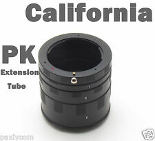 Macro Extension Tube Ring for Pentax PK K Mount Kx Km k7/5 K200D K100D K20D K10D