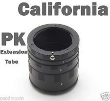 Pentax Macro Extension Tube Ring PK K Mount 1000 2000 7 5 KX R 110D X M 70 ist D