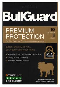 BullGuard Premium Protection I 10-Devices I 1-Year I KeyCard