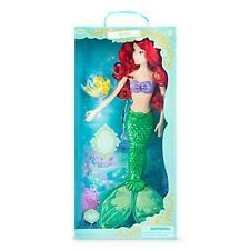 "Ariel Little Mermaid Deluxe Feature 18"" Singing Doll -Disney Princess New in Box"