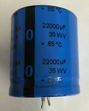 22000uf 35v 85c Snap-in Capacitor (Qty:2)