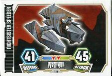 Star Wars Force Attax Series 3 Card #115 Nightsister Speeder