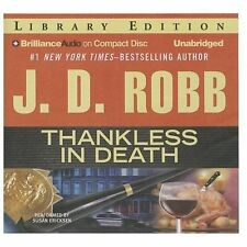 Thankless In Death : Library Edition by Robb, J. D.; Ericksen, Susan (NRT).