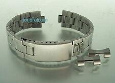 mm. 18 Cinturino Bracciale Orologio mod. Oyster Acciaio, compatibile rolex