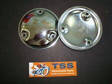70-6519 TRIUMPH BSA T150 750 RIII CHROME POINTS COVER NOS