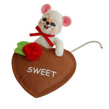 "SWEET TREATS 3"" Valentine's Day Table or Desk Top FIGURE Annalee Valentine Gift!"