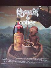 1988 Kahlua And Coffee Original Advertisement