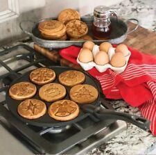 Williams Sonoma Nordic Ware Holiday Pancake Pan, Black
