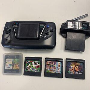 Sega Game Gear Bundle (Non Working)