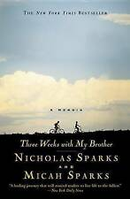 NEW Three Weeks with My Brother by Nicholas Sparks