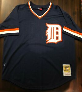 Authentic BP Jersey Detroit Tigers 1984 Kirk Gibson SIZE 48