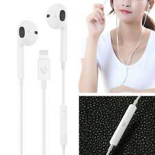 Bluetooth Headphone Wired Headset Volume Earphones For Apple iPhone X 8 7/7Plus