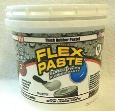 Flex Seal Paste White Super Thick Xlarge 3 Lb Tub Ships Free Priority Same Day