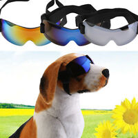 Pet Dog UV Sun Glasses Protection Sunglasses Safety Doggles Goggles Y