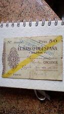 50 pesetas Gijón ..1936